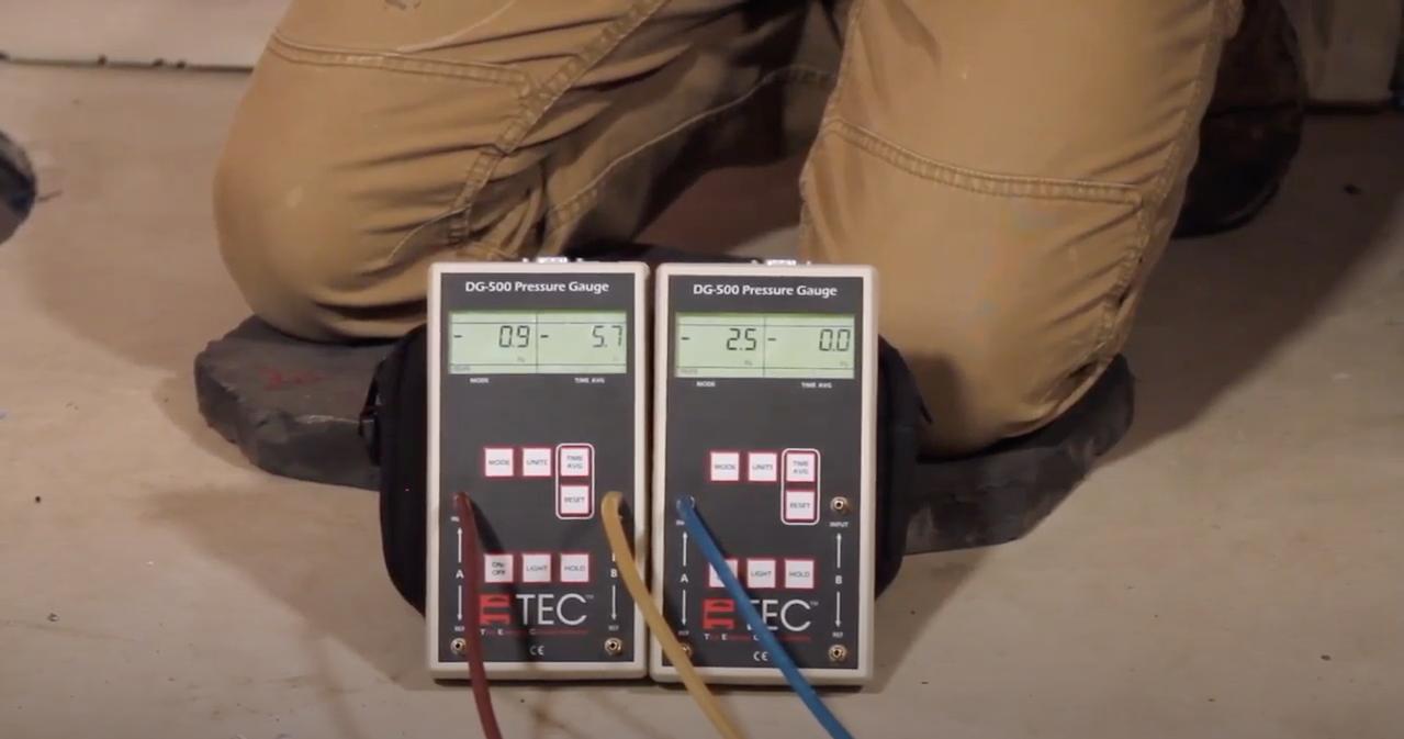 American Radon Mitigation micro manometers